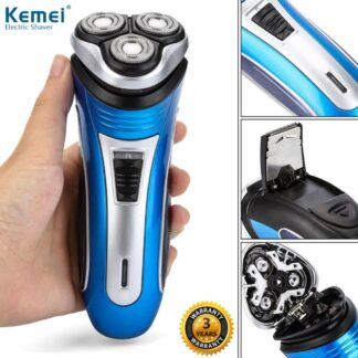 110 240v Rechargeable Electric Shaver 3d Triple Floating Blade