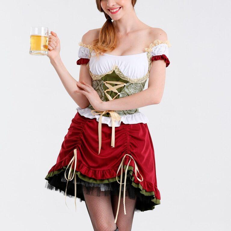 Carnival Lady The Munich Oktoberfest Costume Germany